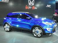 江铃新SUV概念车驭胜S330 上海车展首发