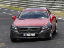 奔驰新款SLC车型谍照 法兰克福车展发布
