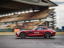 性能强悍声浪迷人 赛道驾驶AMG高性能车