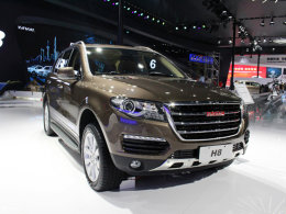 广州车展哈弗H8增5款新车型 18.88万起