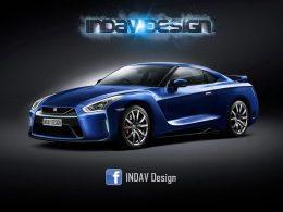 日产2017款GT-R假想图 将于2017年发布