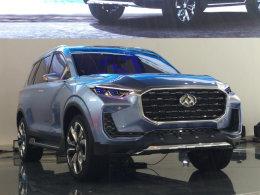 上汽大通D90量产版预计明年四季度发售