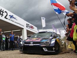 亲历WRC德国站(上) 探秘神奇的大众车队