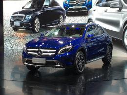 2016成都车展 北京奔驰GLA蓝调版首发