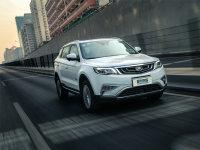 爱卡SUV专业测试 吉利博越1.8T顶配版