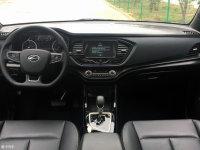 陆风全新小型SUV内饰照  配7英寸液晶屏