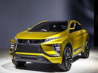 2017上海车展  三菱eX概念车/跨界SUV