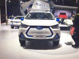 2017上海车展:江淮iEV7E车型正式发布