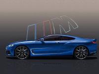 全新宝马8系概念车假想图 5月26日发布