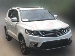 吉利远景SUV 1.4T车型谍照 或年底上市