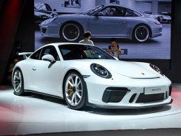 2017成都车展 保时捷911 GT3 静态评测