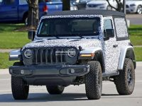 全新Jeep牧马人最新谍照 11月27日发布