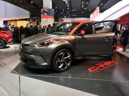 2017法兰克福:丰田C-HR混动概念车发布