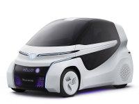 丰田发布CONCEPT-爱i Ride概念车官图