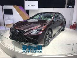 广州车展探馆 雷克萨斯LS 500h F Sport