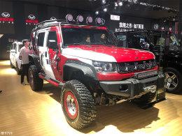 2017广州车展 北京BJ40L特别版正式发布