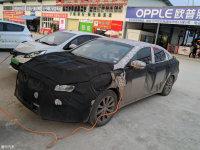 疑似博瑞GT插电式混动版曝光 或4月发布