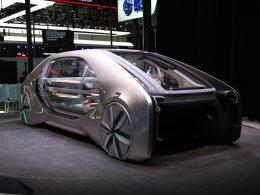 实拍雷诺EZ-GO概念车
