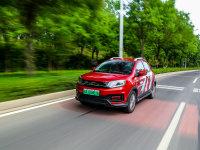 接近燃油车驾驶感 测试电动SUV云度π1