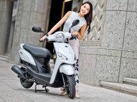 光阳摩托发布全新小排量踏板车Nice 100