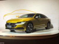 一汽-大众全新一代CC上市 售25.28万起