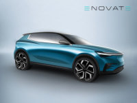 ENOVATE首款车型预告图 将广州车展发布