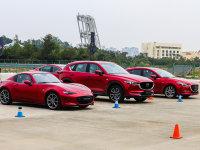 CX-8领衔 马自达创驰蓝天全系车型试驾