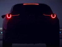 马自达全新SUV预告图 日内瓦车展首发