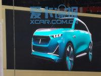 上海车展探馆:WEY全新电动概念SUV曝光