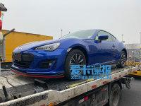 上海车展探馆 新款斯巴鲁BRZ抢先预览