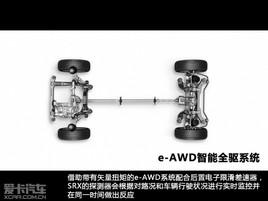 爱卡四驱测试之凯迪拉克SRX e-AWD系统