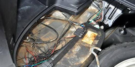泡水车安全隐患 电路板进水后期问题多