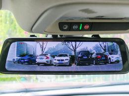 高清画质 测盯盯拍mola E3流媒体后视镜